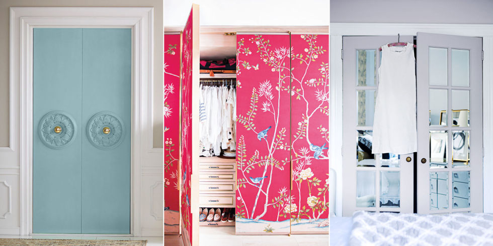 3 So Cute Ways To Make Over Big Boring Closet Doors Charlotte